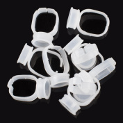 CHUSE Permanent Makeup Rings eyebrow Tattoo pigment Holder 600D-H7 100 pieces Small size