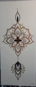 Tattoo stikcers for ladys'chest flower design