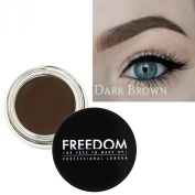 Freedom Makeup Eyebrow Definition Brow Pomade Dark Brown