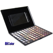 Fashionable Cosmetic Eyeshadow Palette with 88 Natural Colours