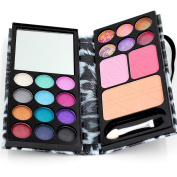 V@M 18 Colour Professional Palette Makeup Eyeshadow Natural Luminous Glitter