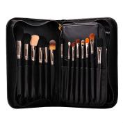 Professional 29pcs High Quality Goat Hair Cosmetics Makeup Brush Set Kit