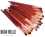 Beau Belle Fire Eye Brush Set - Eye Make Up Brushes Set - Professional Make Up Brushes - Make Up Set - Make Up Brush Set - Make Up Brushes Set - Professional Makeup Brush Set - Makeup Brush Set