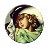 Pocket mirror, Lempicka