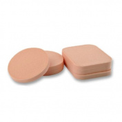 Pack of 6 Latex Foundation Sponges Wash with water Make up accessory