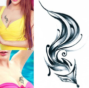 Body Art Temporary Removable Tattoo Stickers Fox Sticker Tattoo - FashionLife