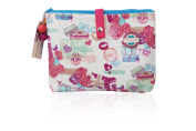 Miss Gorgeous Love Travel Multi Section Toiletry Bag