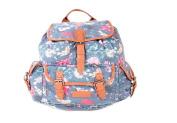 Quality Ladies Girls Large Animal Prints Rucksack Backpack Duffle School Gym Travel Bag