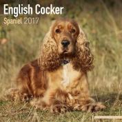 English Cocker Spaniel Calendar 2017