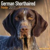 German Shorthaired Pointer Calendar 2017