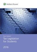New Zealand Tax Legislation for Students 2016