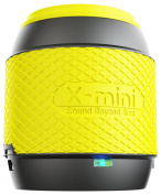 XMI X-Mini ME XAM16-B Portable Thumb Size Speaker with 3.5mm Jack Compatible with iPhone/iPad/iPod/Smartphones/Tablets/MP3 Player/Laptop - Yellow