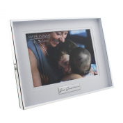 Great Grandchildren Silver Plated Photo Frame 13cm x 18cm