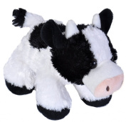 Wild Republic 18 cm Hug'ems Cow Plush Toy