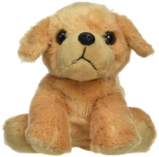 Wild Republic 18 cm Hug'ems Dog Yellow Labrador Plush Toy