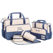 NovoGifts Baby Nappy Nappy Changing Bags Blue
