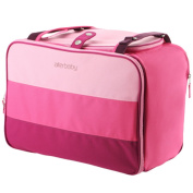 NovoGifts Baby Nappy Nappy Changing Bags in 5 Colours Rose Red