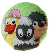 Sandmann - Sandmännchen Plush Pillow Friends round , 25 cm