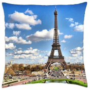 Heart of Paris - Throw Pillow Cover Case (18