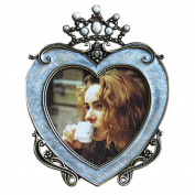 Heart-shaped Frames Retro And Creative Nursery Picture Frames-Blue