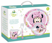 BoyzToys Minnie Mouse Baby Microwavable Set