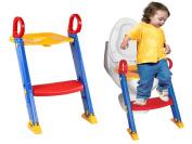 FiNeWaY@ NEW BABY KIDS/TODDLER/CHILD FOLDING TOILET POTTY TRAINING STEP LADDER LOO SEAT
