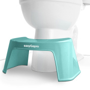 easyGopro 19cm Blue One Size Most Ergonomic Toilet Stool