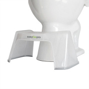 "easyGopro 19cm Modern Ergonomic Toilet Stool NEW ""ICE"""