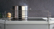 SO-TECH® Hob safety guard Childproof removable cooker bars for 60 cm hob Width: 678 mm / Heigt