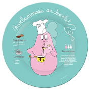 Barbapapa BA932E Large Plate with French Recipe