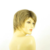 Short Wig Woman Smooth Brown Gold Ref OCEANE 6t24b