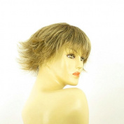 Short Wig Woman Smooth Brown Gold Ref MELISSA 6t24b