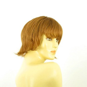Short Wig Woman Blond Smooth Copper Ref MELISSA 27
