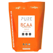Bodybuilding Warehouse Pure iBCAA 2:1:1 Instantised Branch Chain Amino Acid Powder Pomegranate 500 g