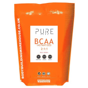 Bodybuilding Warehouse Pure iBCAA 2:1:1 Instantised Branch Chain Amino Acid Powder Red Berry 250 g