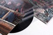 130cm x 30cm Vinyl Record LP Album Covers aka Blake sleeves Crystal Clear Sealed Flap