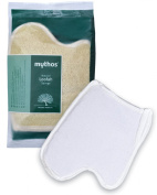 MYTHOS SPUMYTHOS VEGETABLE LOOFAH SPONGE IN THE CONFORTABLE SHAPE OF THE PALM