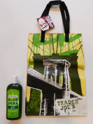 Trader Joe's Aloe Vera Gel And NY Reusable Shopping Bag
