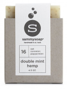 sammysoap All Natural Soap Bar Double Mint Hemp