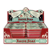 BULK Bacon Soap (12 Tins) - Bacon Scented Hand & Body Soap