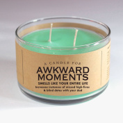 A Candle for Awkward Moments 500ml Candle - Smells like your entire life by Whiskey River Soap Co.
