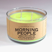 Candle for Morning People 500ml Candle by Whiskey River Soap Co.
