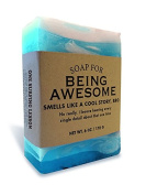 Soap for Being Awesome 180ml Soap One surfing lesson scented (Ocean) by Whiskey River Soap Co.