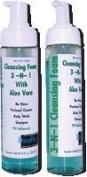 Alimed 3-n-1 Cleansing Foam, No-Rinse, Latex-Free 210ml