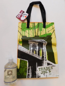 Trader Joe's Hand Soap Lavender & Chamomile And NY Reusable Shopping Bag