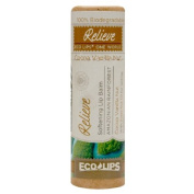 Eco Lips Relieve Soothing Organic Lip Balm, Cocoa Vanilla Nut 10ml