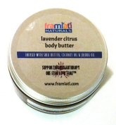 FraMiATi Naturals Lavender Citrus Body Butter, Regular