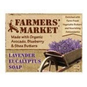 Bar Soap, Lavenderand Eucalyp, 160ml ( Multi-Pack) by Farmers Market
