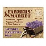 Bar Soap, Lavenderand Eucalyp, 160ml ( Multi-Pack) by Farmers Market