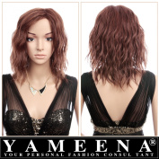 Yameena® High Quality Synthetic Wigs Fashion Women's Wigs Party Wigs Cosplay Wigs Anime Wigs Short Wigs Middle Wigs Straight Long Full Curly Wavy Hair Wig